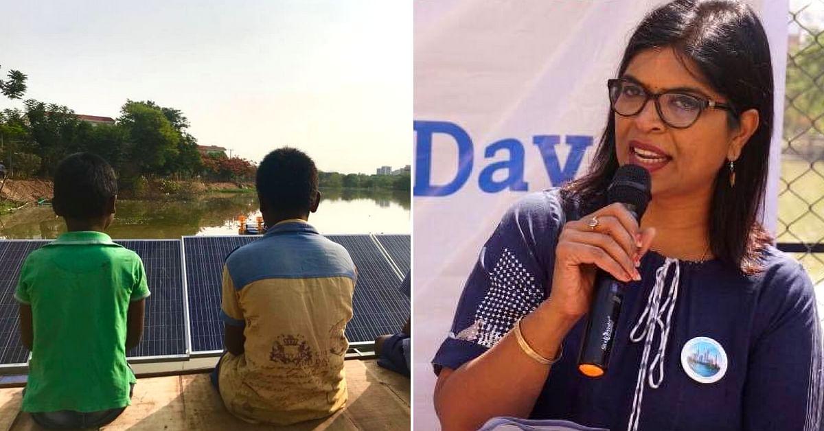 Harvesting Rainwater to Saving Lakes: Meet Hyderabad's One-Woman Water Warrior!