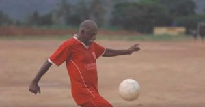 Known as Kerala's 'Neymar', this man plays football with youngsters aged 60. Photo Source.