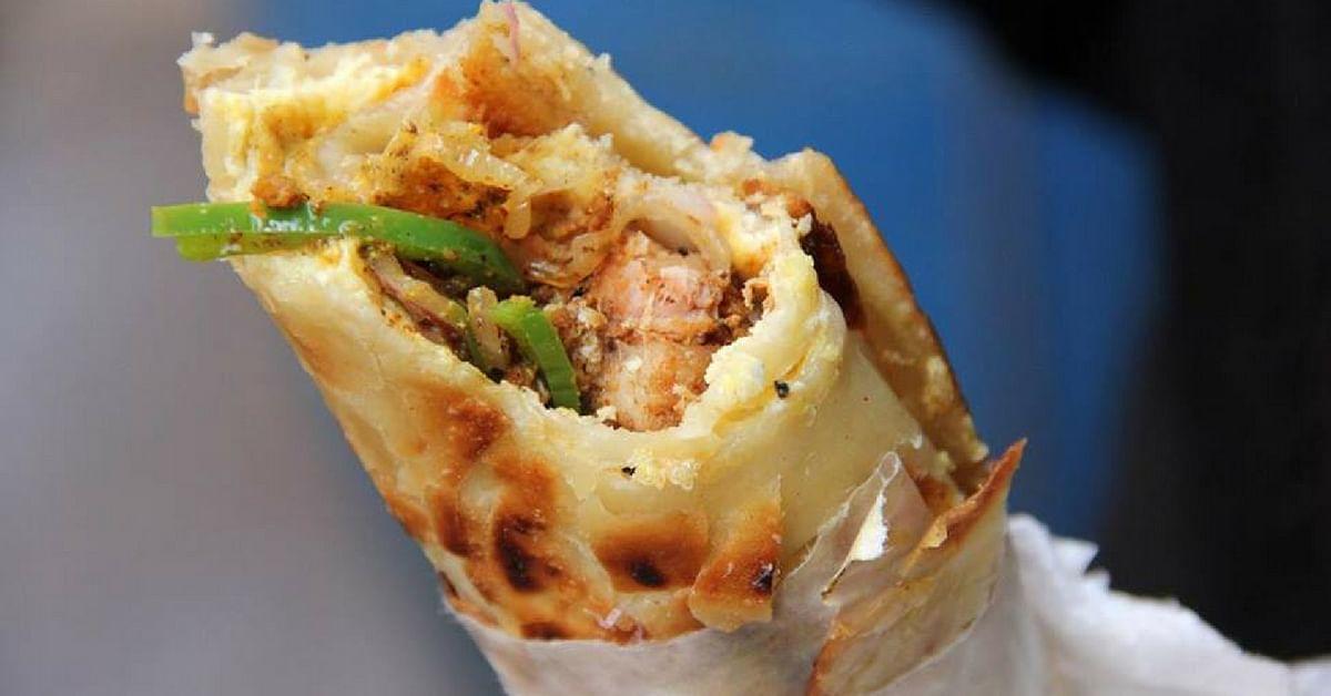 Kolkata invented the legendary kathi roll. Image Credit: World of Kolkata
