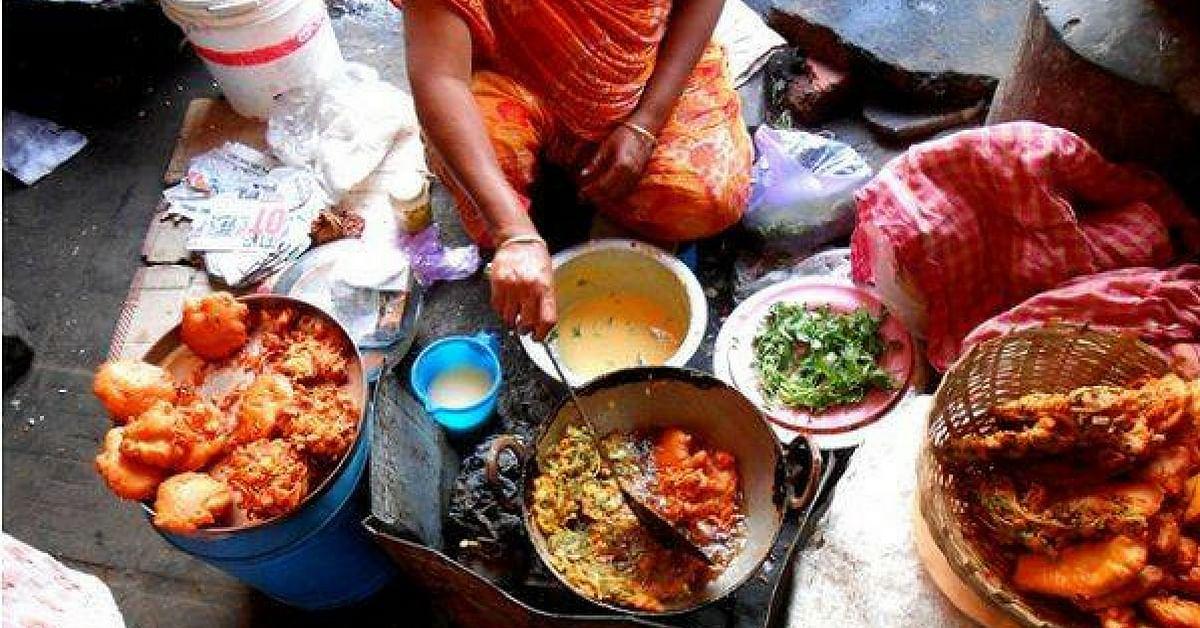 Kolkata's famous telebhaja, is fried goodness.Image Credit: Sudder Street