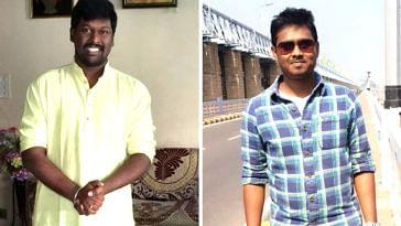 Satish Kumar (left) and Sheelu Raj. (Source: Satish Kumar)