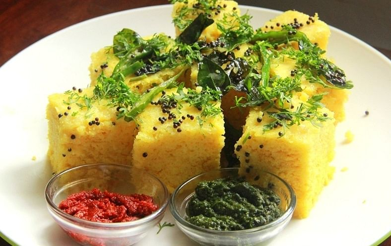 The Gujarati Dhokla!