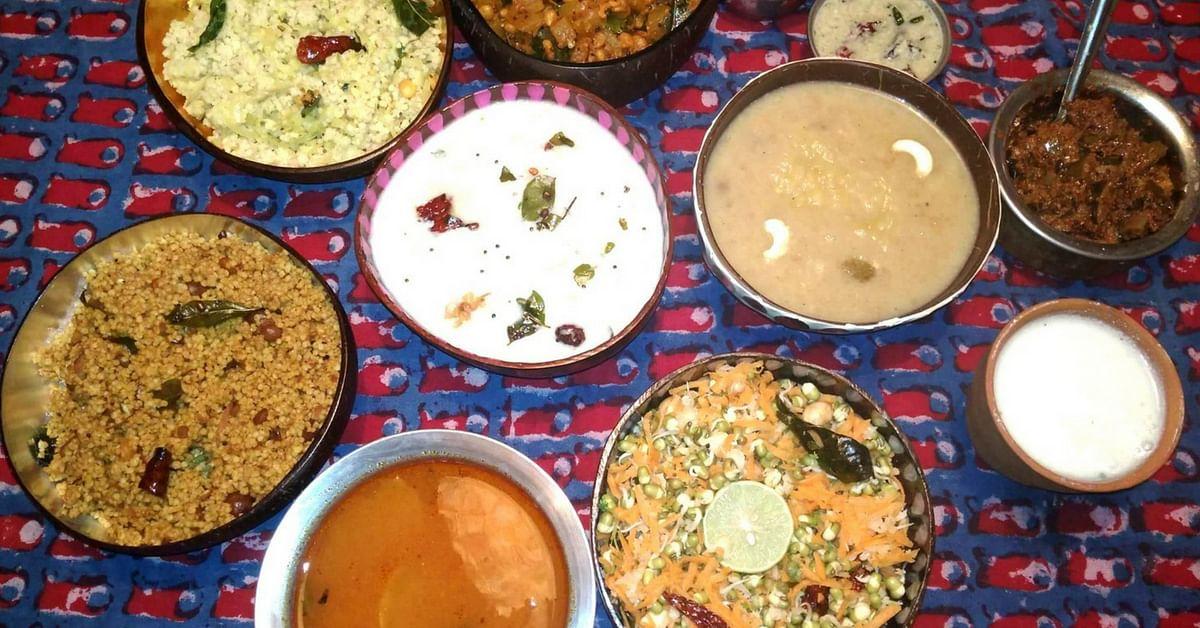 Furnished Via Upcycling, Bengaluru Restaurant Brings Millet Meals Back in Vogue!