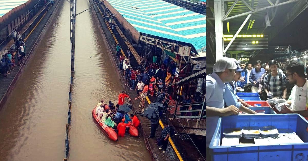 Mumbai Rains: NDRF, Volunteers Rescue over 450 Stranded Passengers
