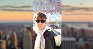 Mumbai's Aditya has a dream start to his career-working with Google in New York. Image Credit: Aditya Paliwal