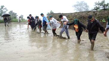 School kids at te Summer Farm School (Source: Facebook/North East Network)