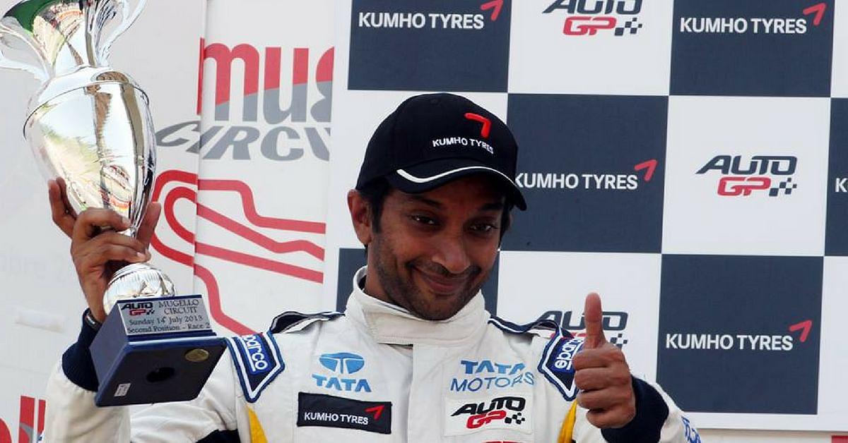 Narain Karthikeyan, the first Indian to race competitively in Formula 1. Image Credit: Narain Karthikeyan