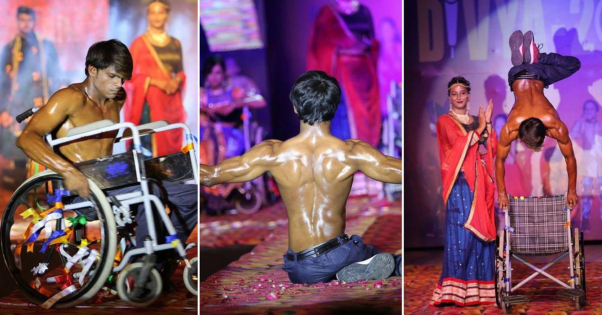 Participants at the Punjab event performed stunts as well. Image Credit: Narayan Seva Sansthan Udaipur