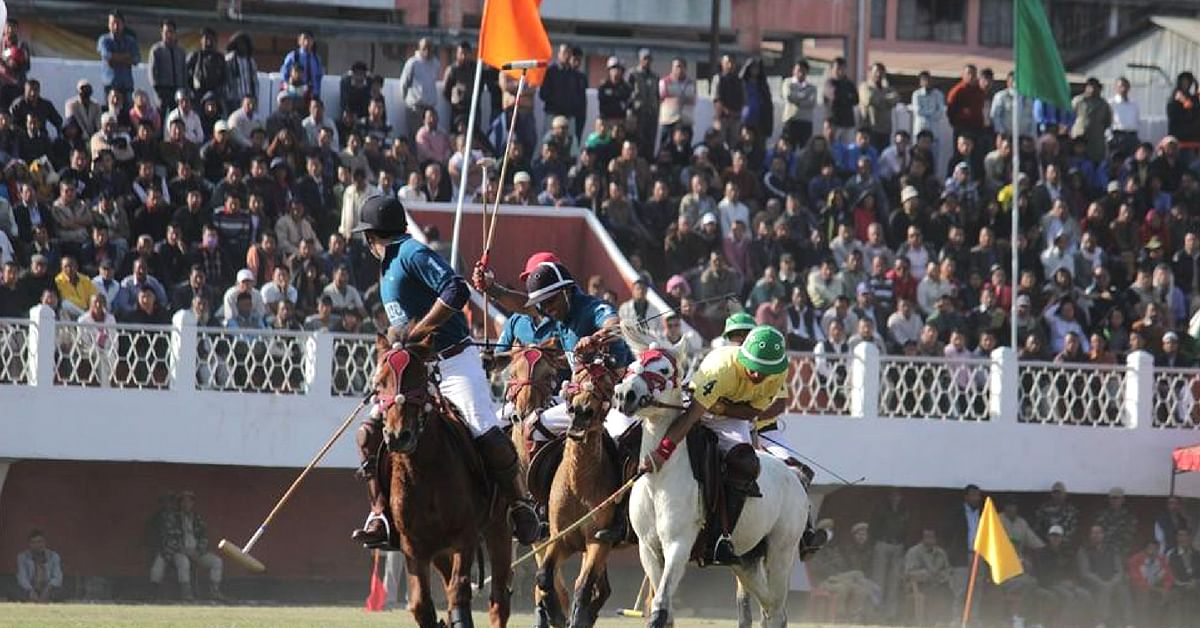 Polo, developed in Manipur in India, has grown huge globally. Image Credit: Manipur Horse Riding & Polo Association - Manipur Polo International