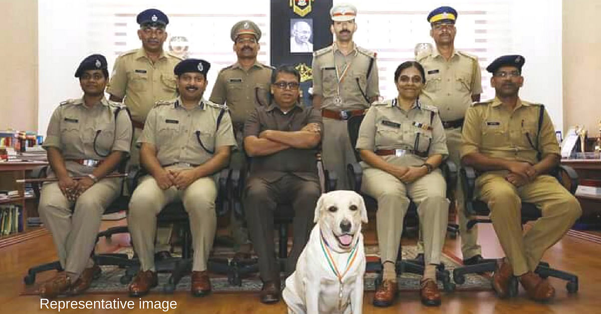 This 4-YO Gold Medallist Is the Newest Star of Delhi Police's Dog Squad!