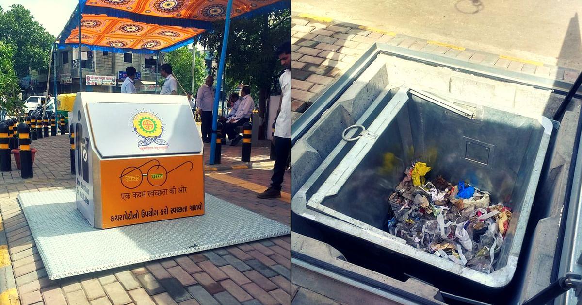 Surat underground garbage system (1)