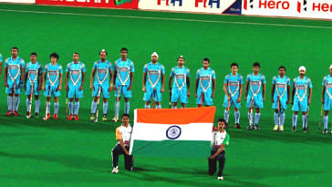 The Indian men's hockey team, has truly won our hearts. Image Credit: Hockey is My Life