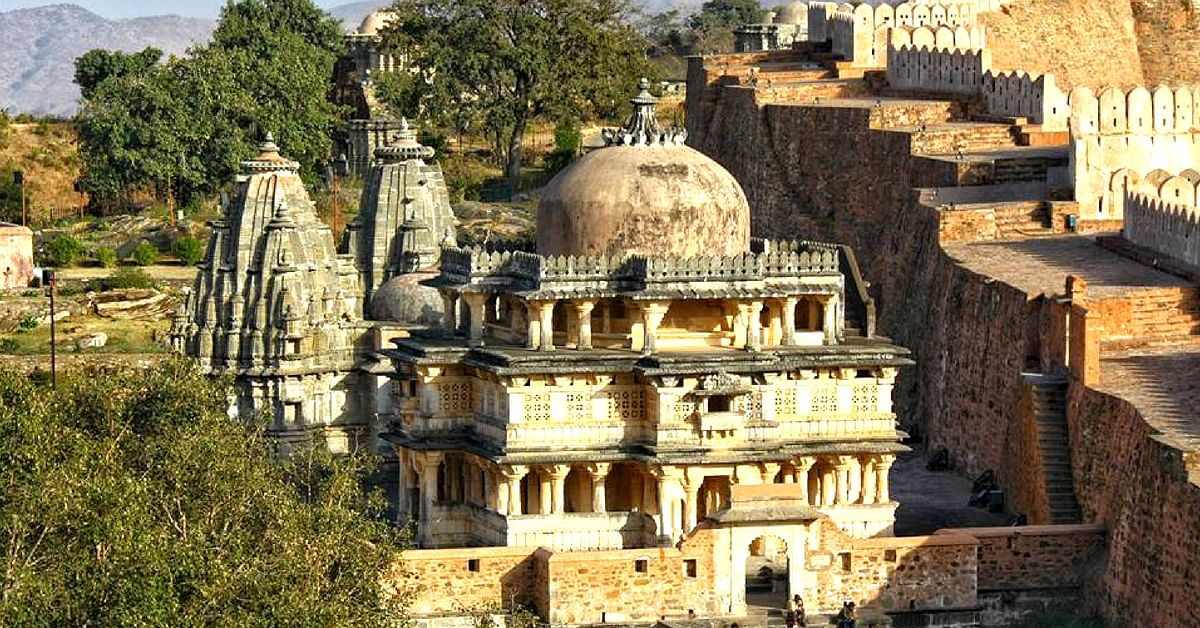 The Kumbalgarh Fort, in Rajasthan, India is quite the sight with its huge walls, domes and pillars. Image Credit:- Sougat Kar