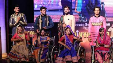 The event held in Punjab, gave an opportunity to the differently-abled. Image Credit: Narayan Seva Sansthan Udaipur
