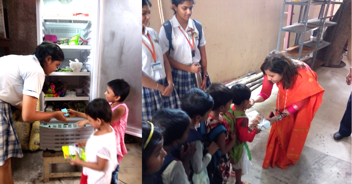 This Kolkata School Got Its Students To Run a Food ATM That Feeds 150 Kids A Day!