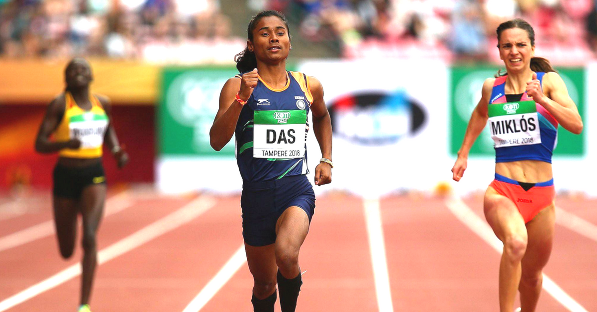 From Assam's Rice Fields to Winning Gold: Hima Das' Story Will Make You Proud!
