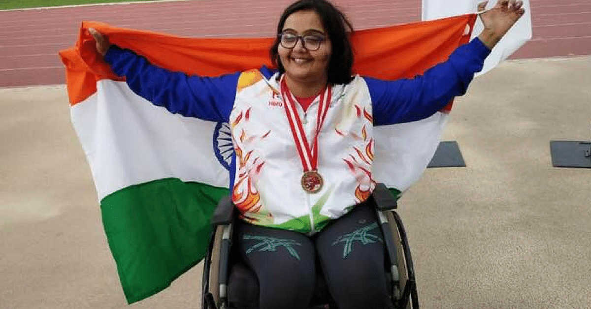 Gritty Haryana Girl Makes India Proud, Clinches Gold at Para Athletics Grand Prix!