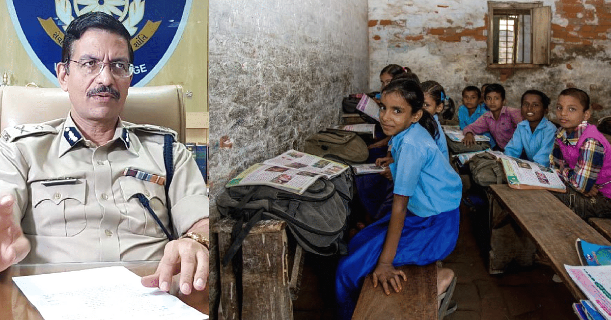Gujarat IPS Officer's Vision Transforms Derelict School Into Model One For Poor Kids!