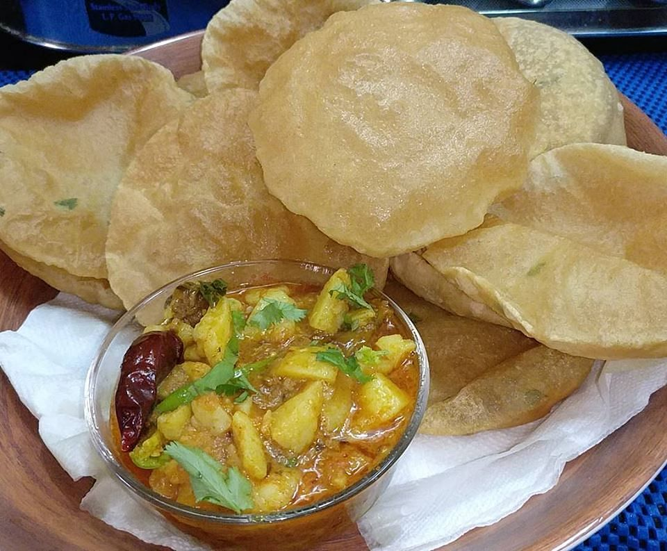 Aloo Puri. For representational purposes only. (Source: Facebook/zaika dilli 6)