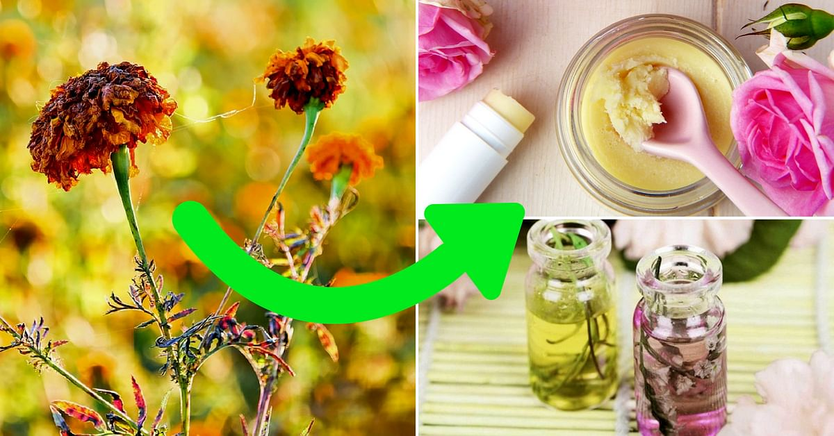 Wilting Flowers ≠ Waste: 5 Smart & Simple Home Hacks to Reuse Leftover Blossoms!