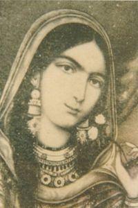 Begum Hazrat Mahal - Painting