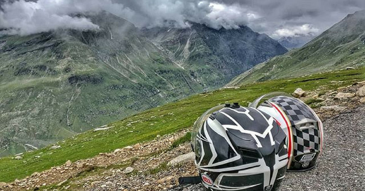A helmet is absolutely necessary, no matter where you ride. Image Credit: UrmezB