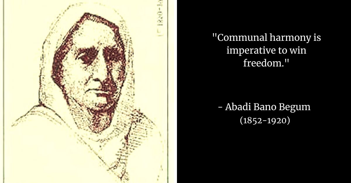 Abadi Bano: Illiterate Widow to One of Freedom Struggle's Most Powerful Voices!