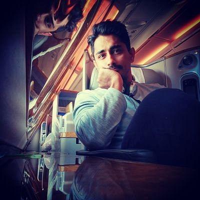 Southern cine star Siddharth (Source: Twitter/Siddharth)