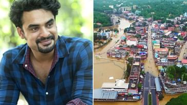 Actor Tovino Thomas has thrown his home open to those who are stranded due to the Kerala floods. Image Credit (Left)- Arun Krishna Photography and (Right) Vishal Photography Pala