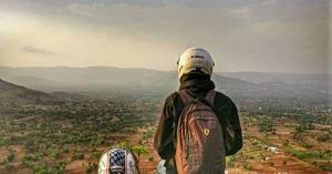 Always wear a helmet, no matter where you ride. Image Credit: UrmezB