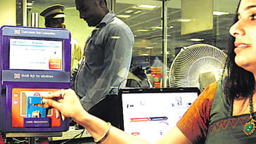 An integrated ticketing system in Mumbai, will use a uniform smart card across all modes of transport. Representative Image Only. Image Credit: Delhi Metro