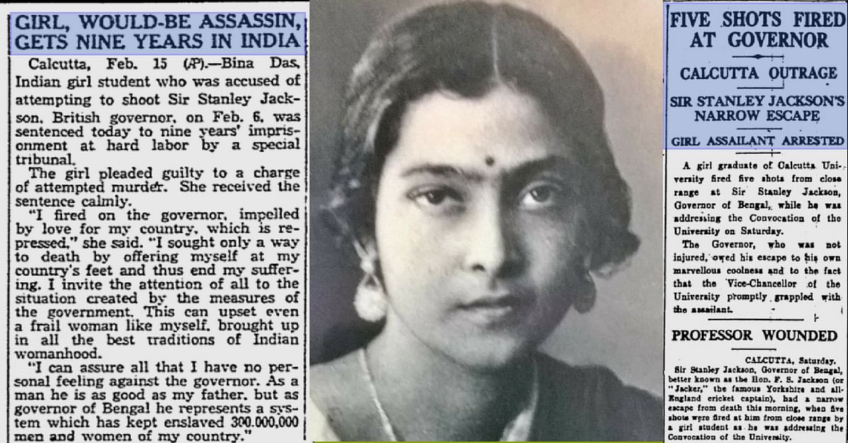 At 21, This Feisty Bengali Woman Etched Her Mark on India's Freedom Struggle!
