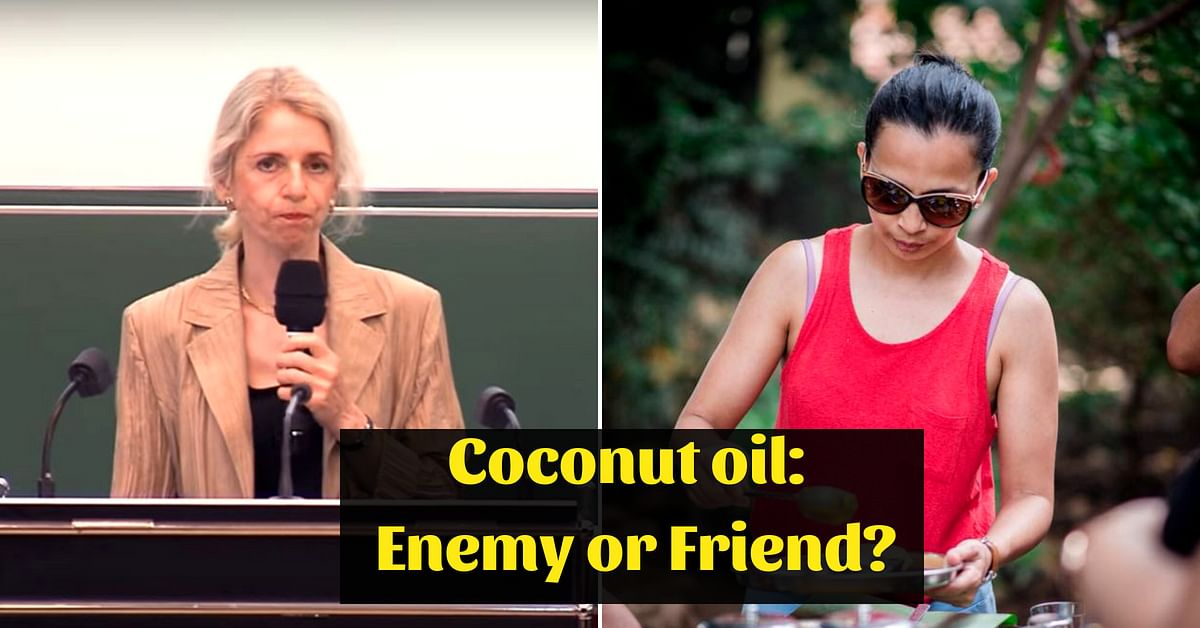 Coconut Oil Is 'Pure Poison'?: Rujuta Diwekar Shares Why Harvard Claim Is Wrong