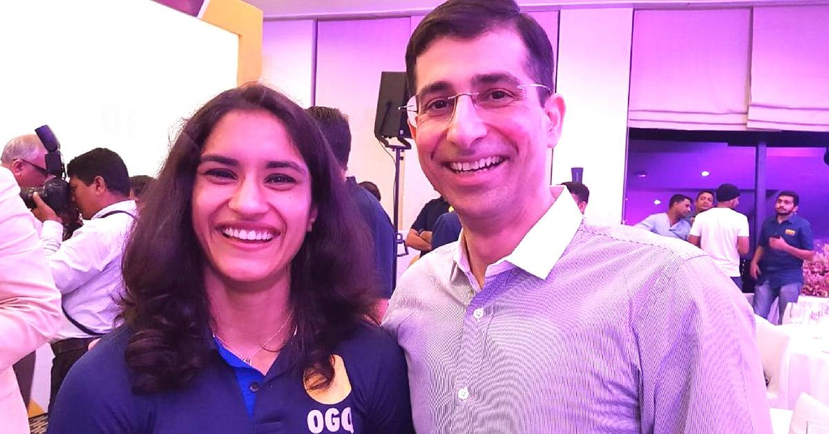 Dr Dinshaw Pardiwala with Vinesh Phogat, Image Credit: Vinesh Phogat