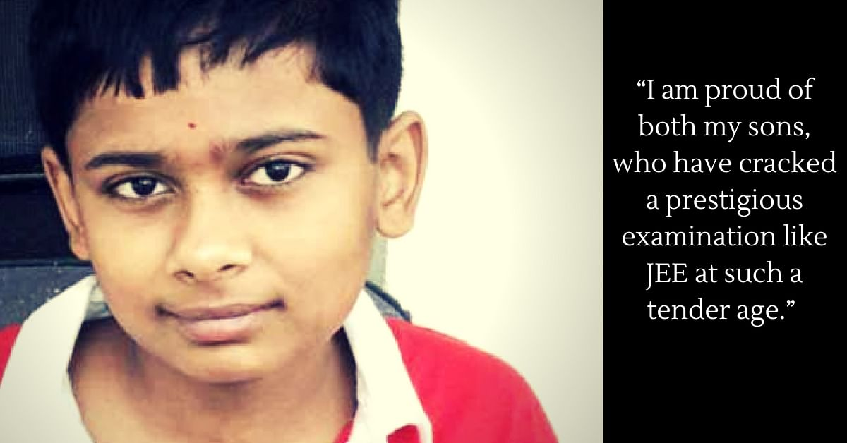 Fighting adversities, he cracked the JEE Exam, aged just 12. Image Credit: Gaya City