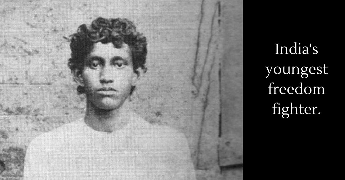 India's youngest freedom fighter Khudiram Bose.Image Credit: Calcutta State Archives