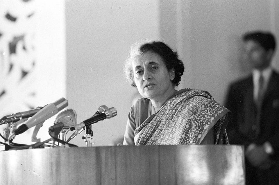 Indira Gandhi (Source: Facebook/Indira Gandhi)