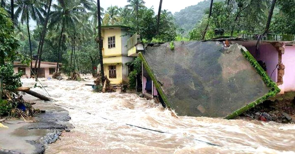 Insurance can be easily claimed, if you have lost valuables in the Kerala flood. Image Credit: Webdunia Telugu