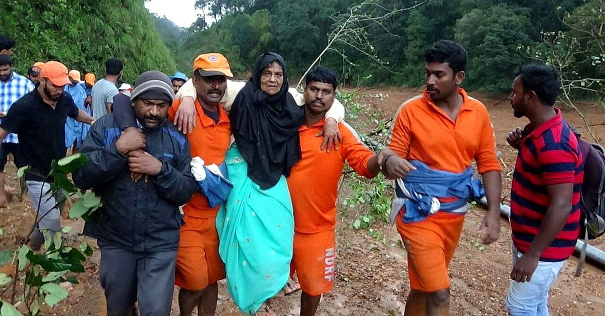 Kodagu Town Turns Church, Temple & Madrasa into Relief Camps for Flood-Hit Hamlets!