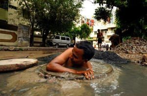 Manual Scavenging. For representational purposes only. (Source: Facebook/Nyaaya)