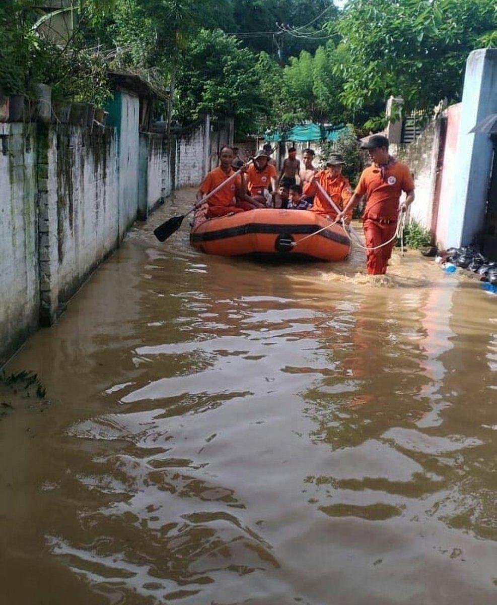 Nagaland floods. (Source: Twitter/We The Nagas)