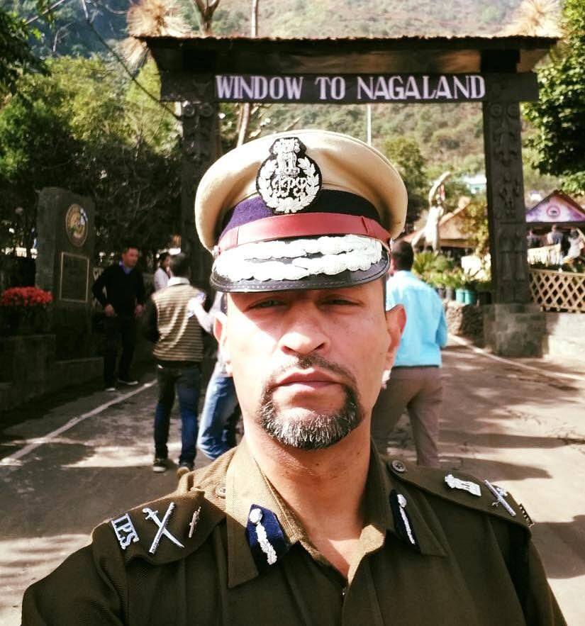 IPS Officer Rupin Sharma (Source: Facebook/Asia News)