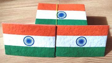 Eco-friendly flag (Source: Facebook/Indusjaivik Aura)