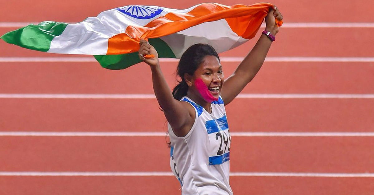 12 Toes, Wrong Shoes & Excruciating Pain Couldn't Stop Swapna From Winning Gold!
