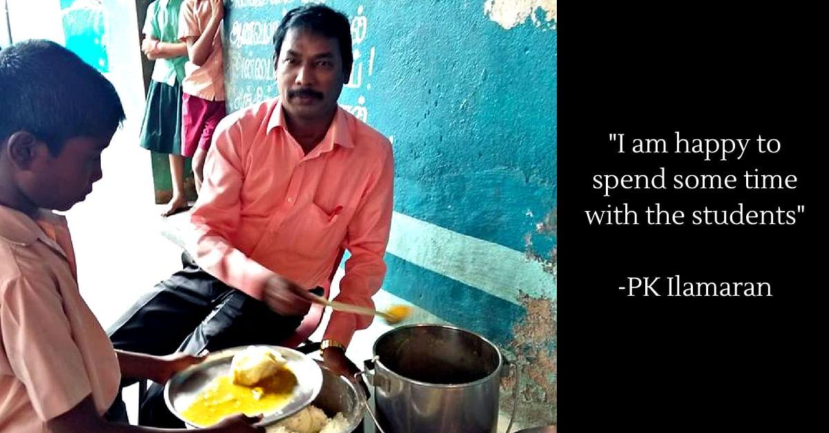 Heartwarming! Chennai Govt School Teacher Feeds 120 Poor Students Every Day!
