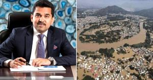 The UAE based Dr Shamsheer Vayalil, decided to donate Rs 50 crore for Kerala flood victims. Image Credit: Dr Shamsheer Vayalil and Venkata Subramani