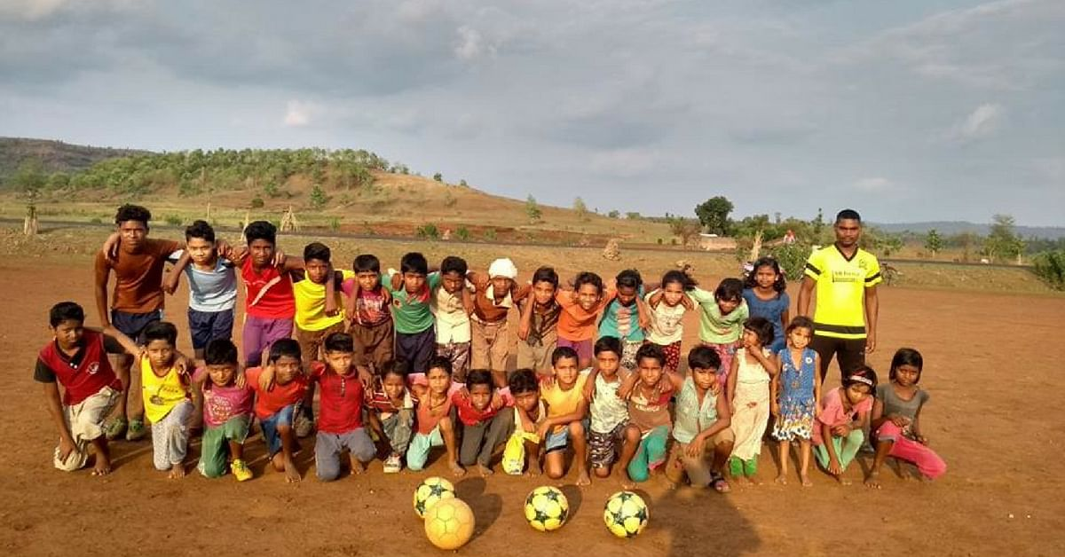 The kids play football and practice long-distance running. Image Credit: Riverside Leagues