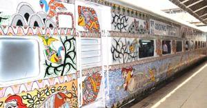 This Bihar-Delhi train is a stunning artwork on wheels.Image credit: Northern Railway
