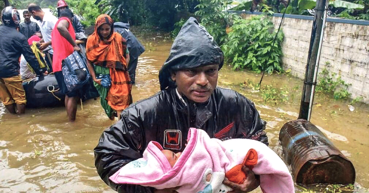 15 Real-Life Heroes Whose Courage & Compassion Upheld Kerala's Spirit!