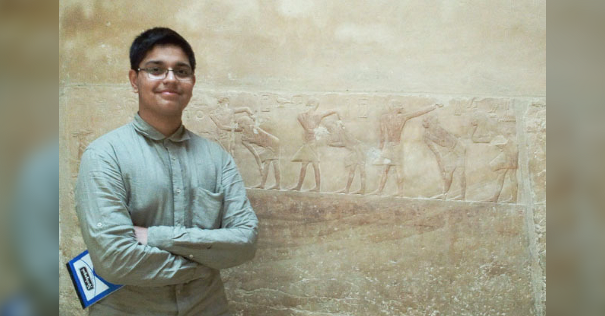 India's Youngest Archaeologist, Arsh Ali Is Just 17 & Already Has 13 Years of Experience!
